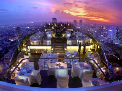 Moon Bar på Banyan Tree Bangkok
