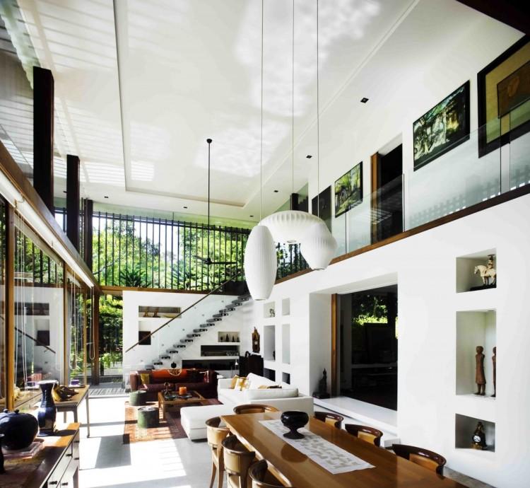 Sun House - fantastisk arkitektur av Guz Architects i Singapore.