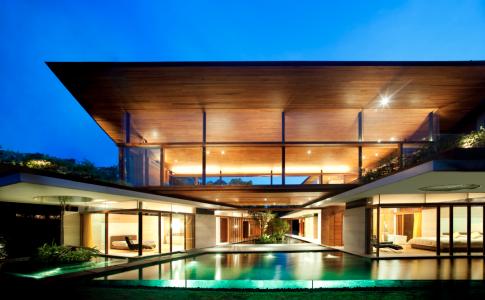 Bridge House av Guz Architects