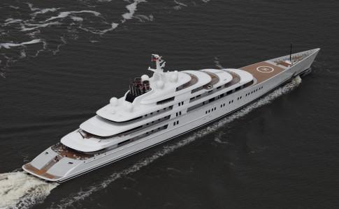 Azzam är, med sina 180 meter, världens största yacht.
