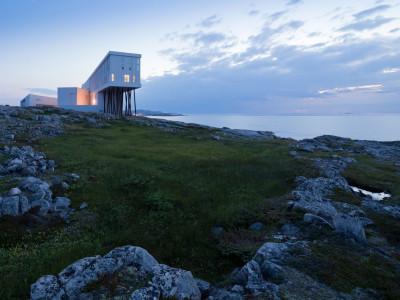 Fogo Island Inn i Kanada av Saunders Architecture