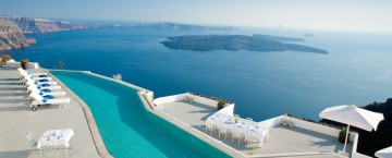 Grace Santorini i Grekland
