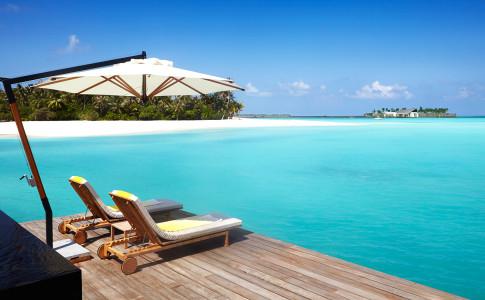 Cheval Blanc i öriket Maldiverna