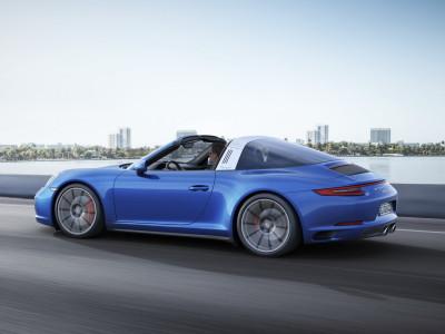 Porsche 911 Targa 4S 2016