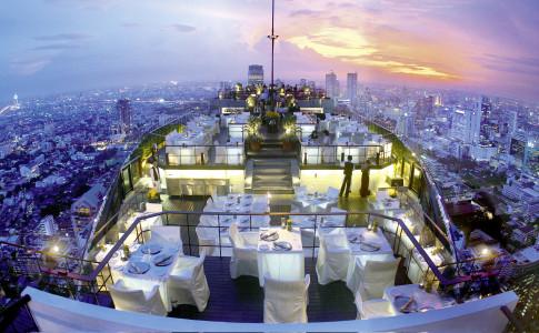 Vertigo och Moon Bar i Bangkok