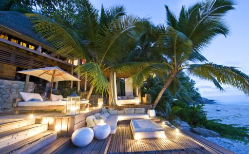 North Island i Seychellerna är en lyxig resort, kanske världens lyxigaste