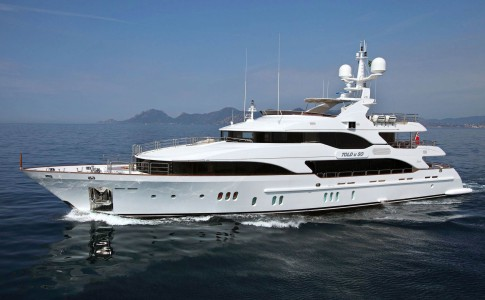 Megayachten Told U So från Benetti Yachts