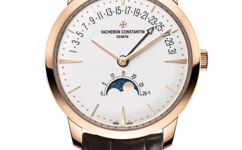 Vacheron Constantin Patrimony Moonphase and Retrograde Date
