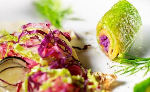 L'Arpège by Alain Passard - här tar de närodlade grönsakerna stor plats