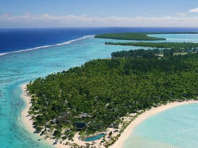 Tetiaroa är en mycket vacker tropisk ö