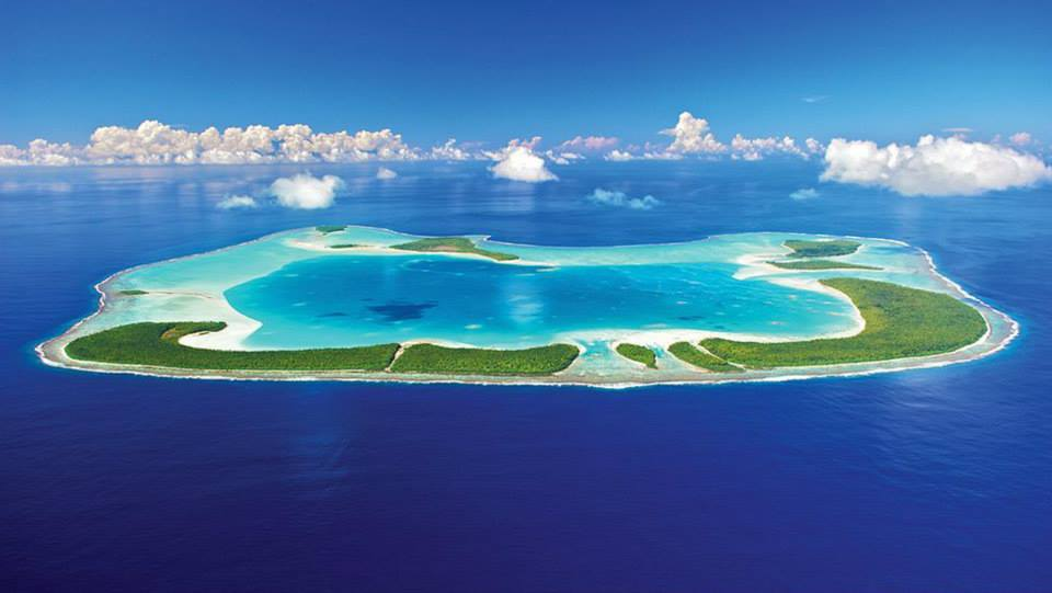 Tetiaroa – ön som en gång i tiden var Marlon Brandos privata tillflyktsort. Äkta barfotalyx.