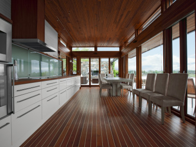 Kvänum Brahe, ett snyggt kök i marin stil