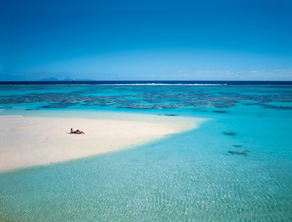 Njut av tystnaden och lugnet. Det är lyxigt att vara nästan ensamma i paradiset.