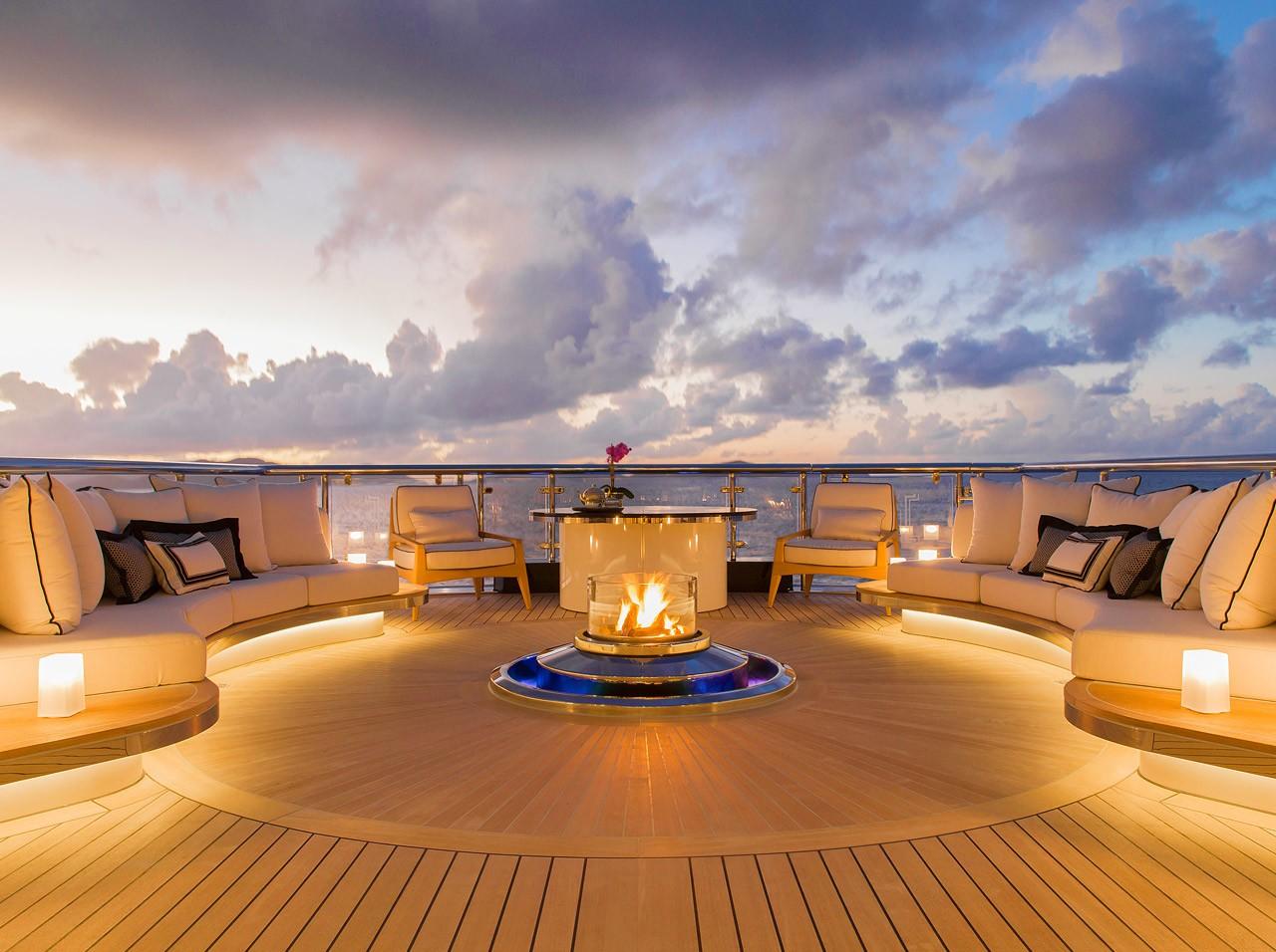 Lista över världens största yachter.