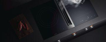 Flex-induktionshäll med bänkventilation Serie 400. Nyheter från Gaggeanu.