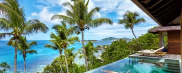 Six Senses Zil Pasyon på ön Félicité i öriket Seychellerna