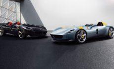 Ferrari Monza SP1 Monoposto och Monza SP2 Biposto