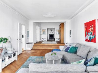 Drömvåning på Lilla Erstagatan 4 - Skeppsholmen Sotheby