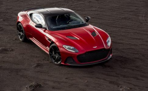 Aston Martin DBS Superleggera - snart i Stockholm
