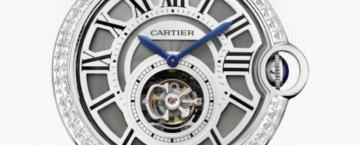 Cartier Extra Large Ballon Bleu Tourbillon Diamond