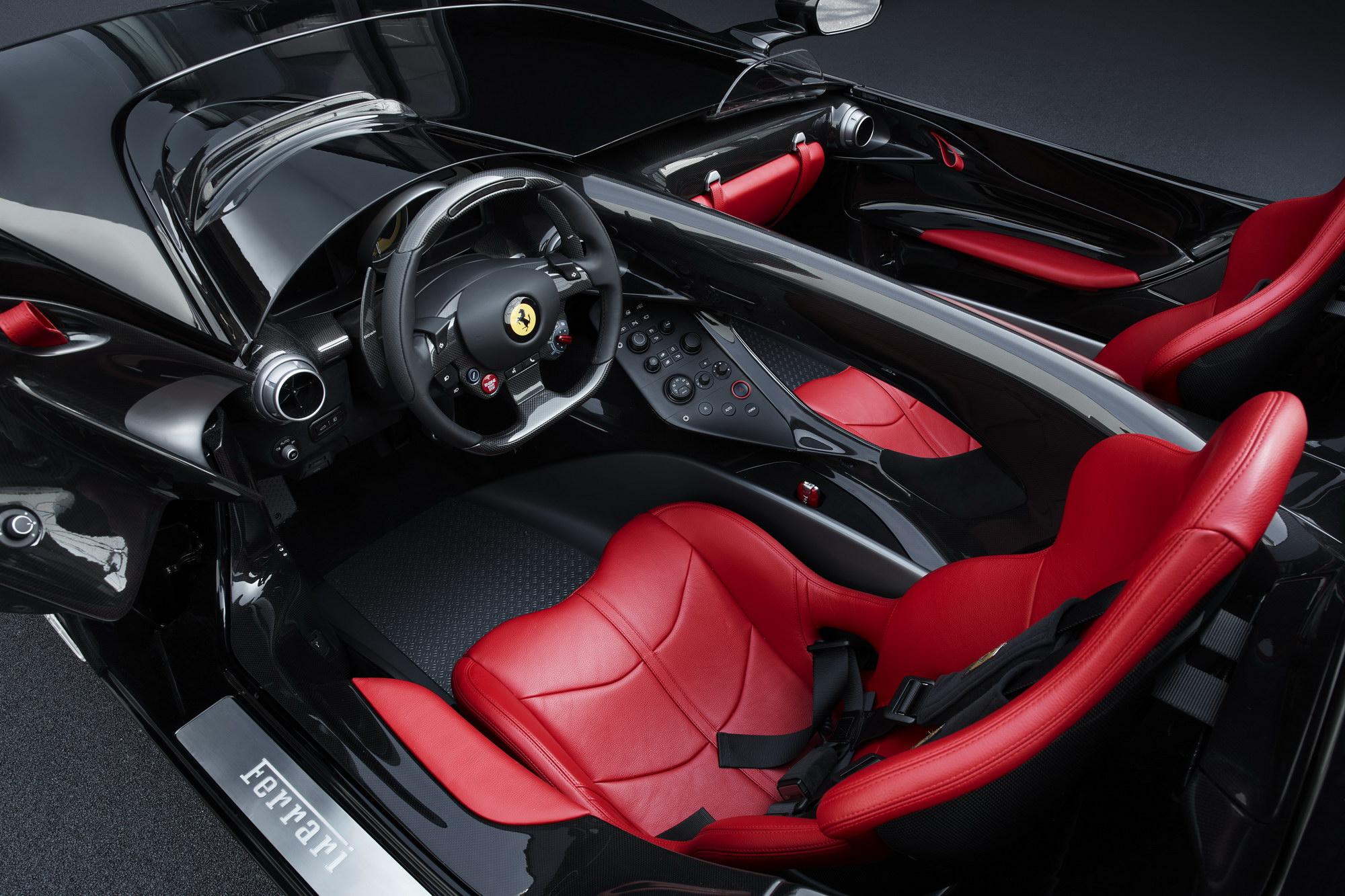Ferrari Monza SP2 i Stockholm.