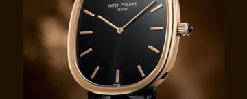 Nytt fråmn Patek Philippe. Golden Ellipse i Stockholm.