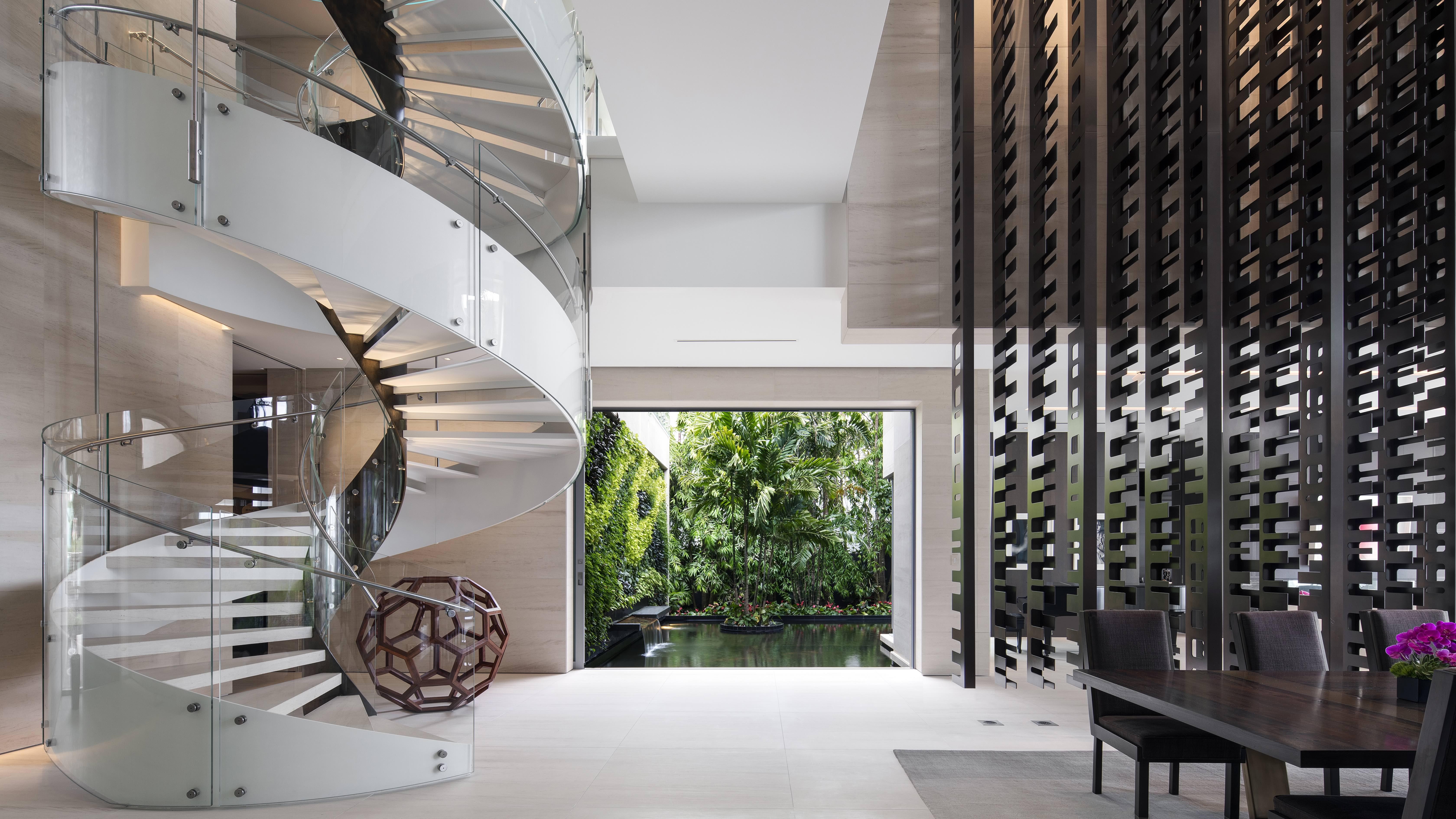 Casa Di Lido Island i Florida av SAOTA - HOOM presenterar alltid projekt av världens bästa arkitekter