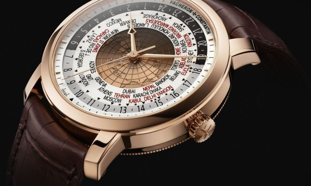 Vacheron Constantin Traditionnelle World Time. Lyxklockor i Stockholm.