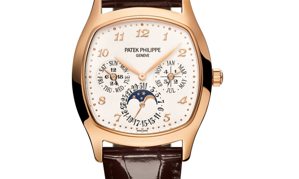 Nya Patek Philippe Perpetual Calendar Grand Complications Rose Gold 5940R. Lyxklockor i Stockholm presenteras här.