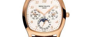 Nya Patek Philippe Perpetual Calendar Grand Complications Rose Gold 5940R. Lyxklockor i Stockholm presenteras här.
