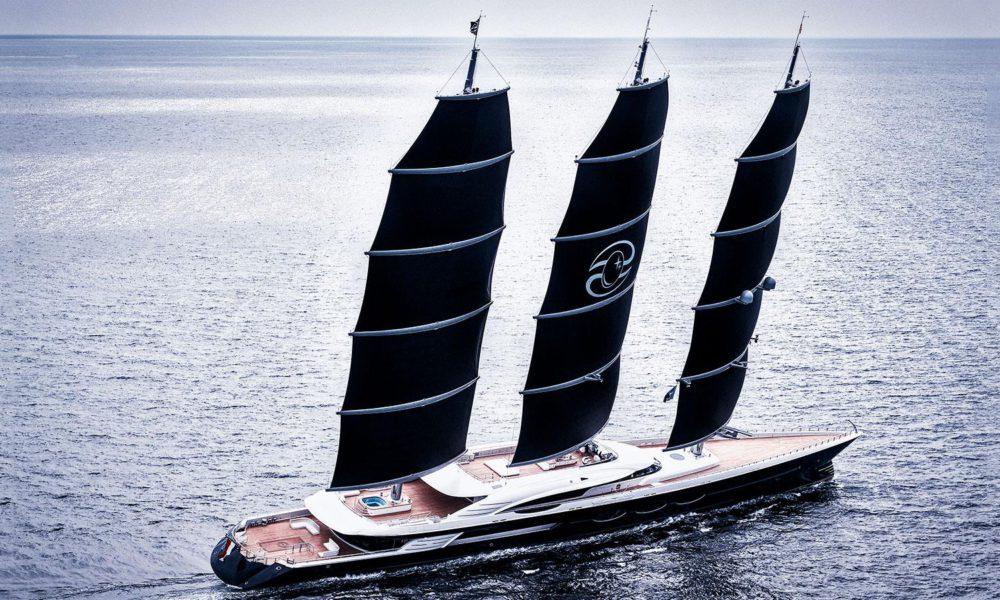 Black Pearl är världens längsta segelbåt
