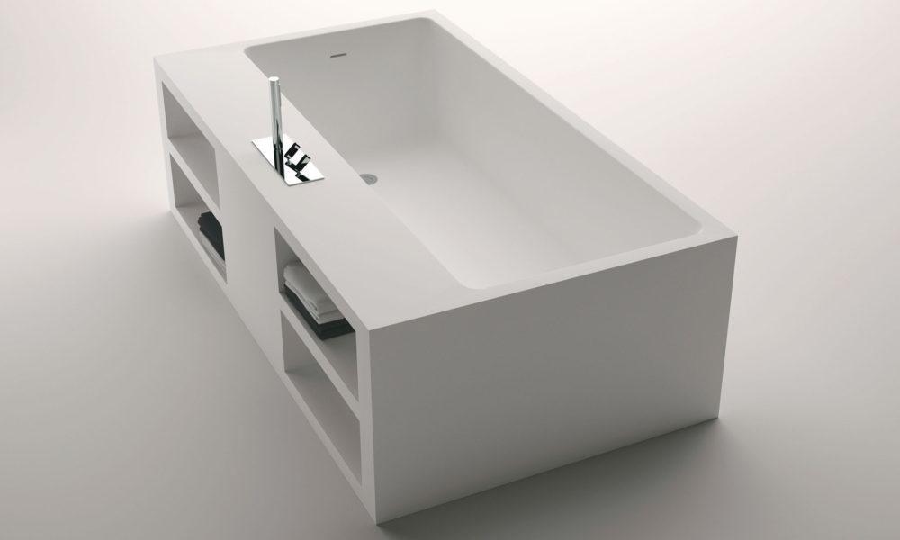 Cartesio är ett fristående badkar från Agape.