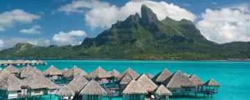 Exklusiva resor till St. Regis Bora Bora, en exklusiv resort.