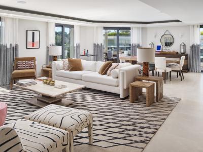 Caudwell Collection's Parc du Cap - erbjuder ett vackert penthouse på Rivieran. Hitta ditt drömboende i Frankrike.