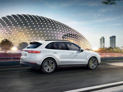 Porsche Cayenne E-Hybrid Stockholm Edition