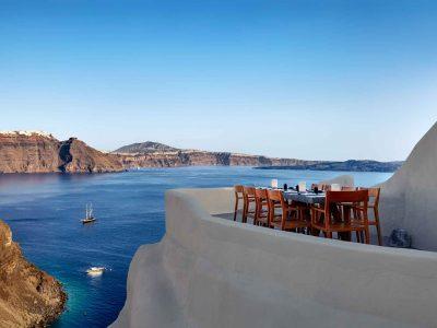 Mystique - ett exklusivt hotell i Grekland. Lyxhotell på Santorini. Vi presenterar hotell och resorts som har det där lilla extra.