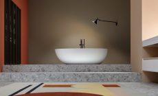 Fristående badkaret Eclipse för Antonio Lupi