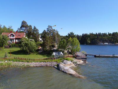 Vackert sjöställe på Lidingö - Skeppsholmen Sotheby