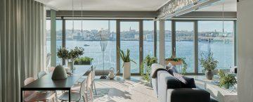 Modern lägenhet med sjöutsikt på Lidingö - Skeppsholmen Sotheby's International Realty i Stockholm
