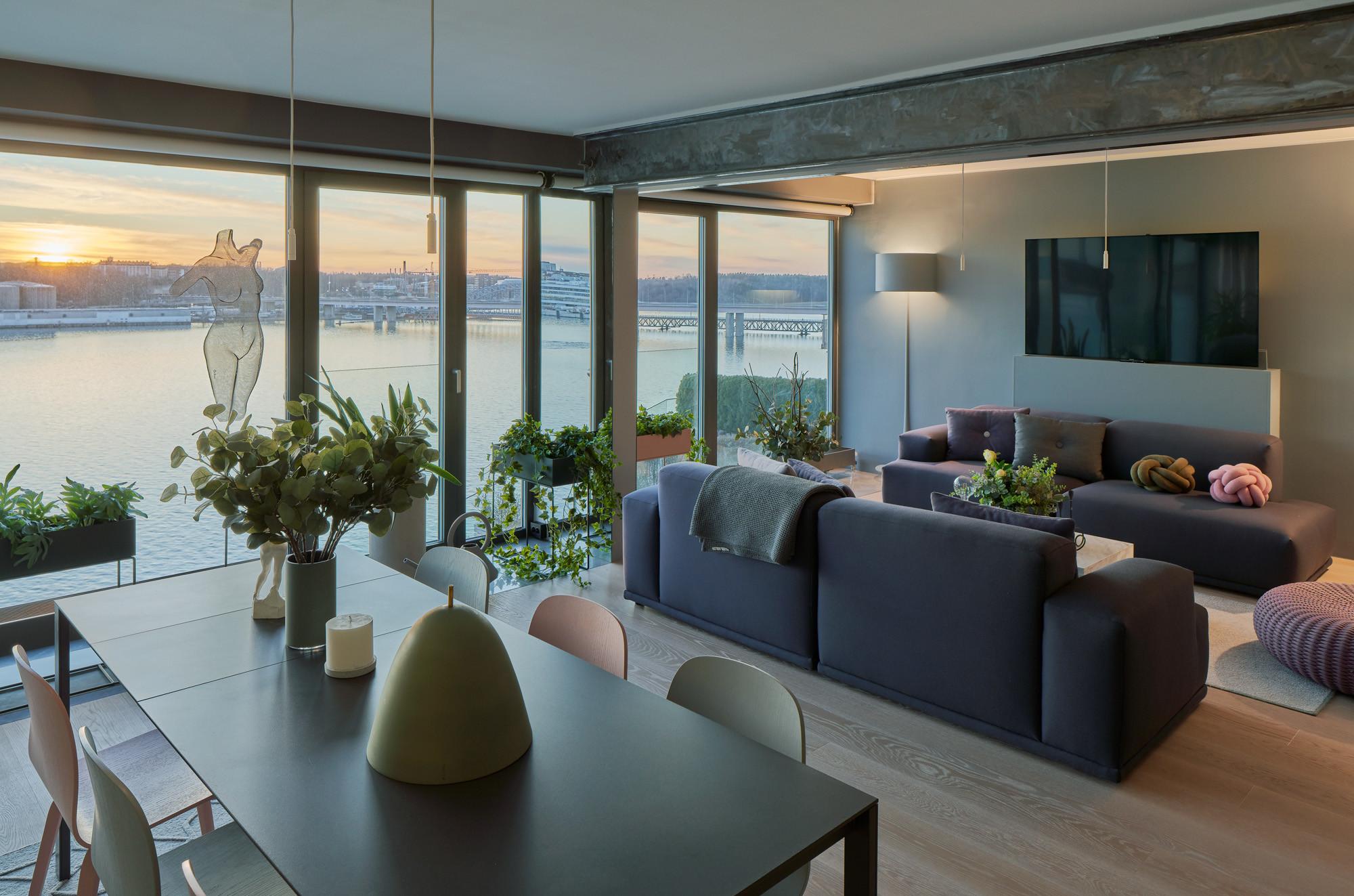Modern lägenhet med sjöutsikt på Lidingö - Skeppsholmen Sotheby