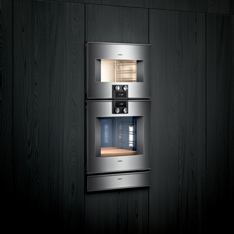 Gaggenaus nya kombiångugnar i serie 400 och 200 är perfekta den som vill skapa kulinarisk konst i sitt egna kök. Lyxigt och proffsigt.