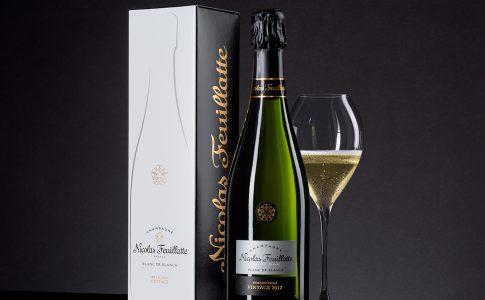 Vinnare i Vinordic Wine Challenge: Nicolas Feuillatte Blanc de Blancs Collecton Vintage 2012 (art nr 7592)