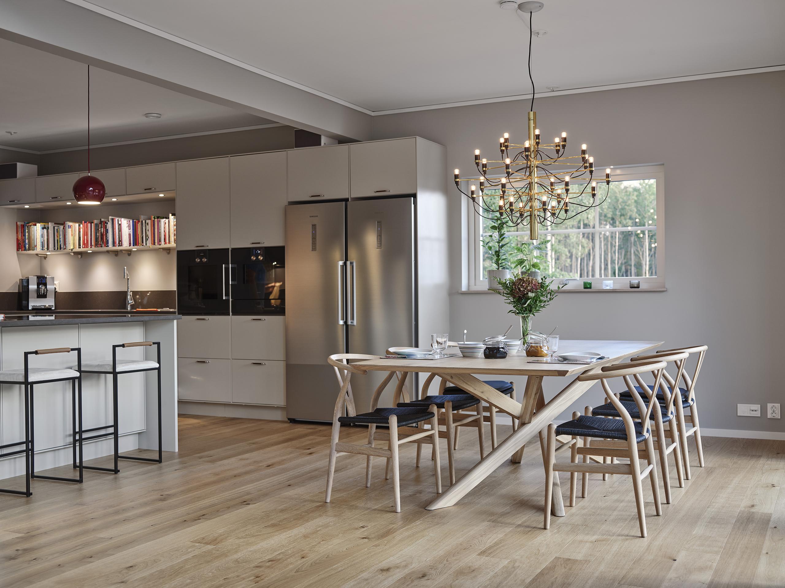 Villa Storsjö från Trivselhus. Perfekt husmodell när du söker en modern villa med mycket rymd.