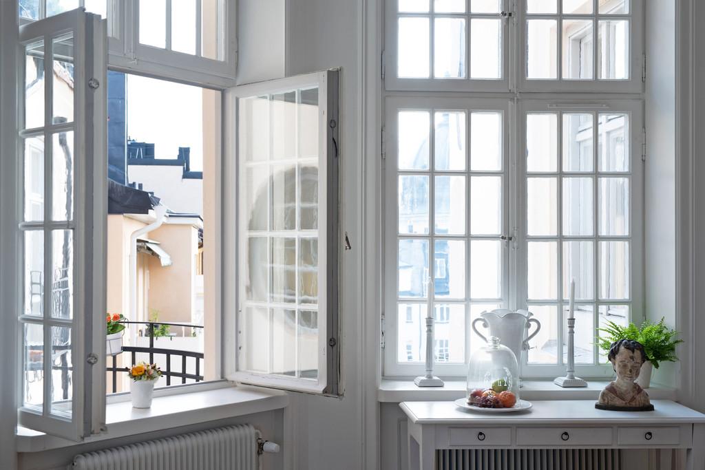 Stor våning på Östermalm - Linnégatan - Skeppsholmen Sotheby