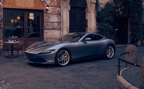 Ferrari Roma - när du vill se exklusiva bilar, lyxbilar och sportbilar