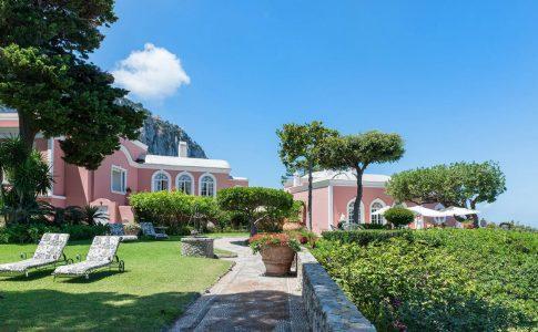 Villa Bismarck på Capri - Italy Sotheby's International Realty