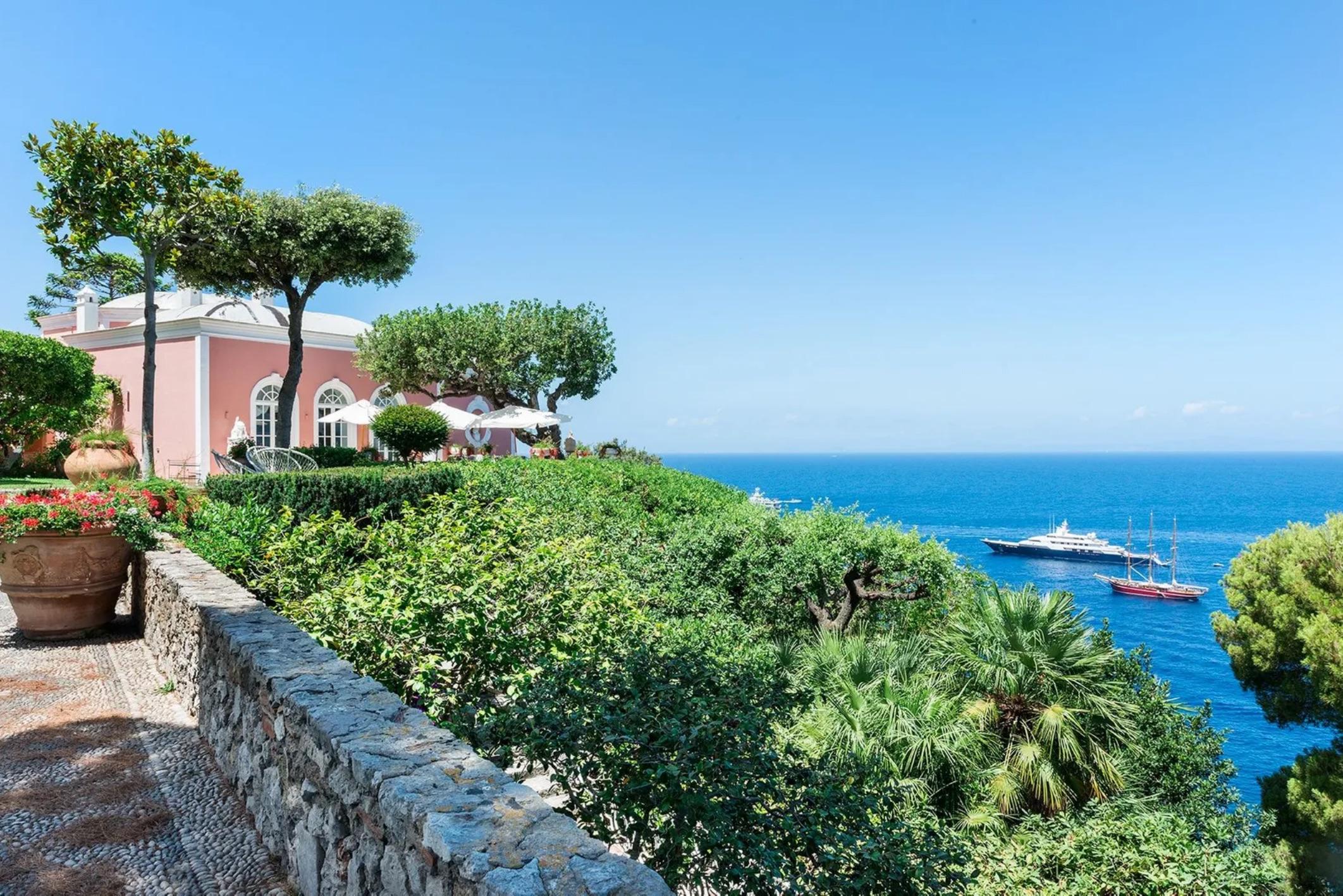 Villa Bismarck på Capri - Italy Sotheby