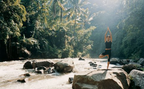 Como Shambhala Estate på Bali - erbjuder yoga, pilates och olika behandlingar. Wellness när den är som allra bäst.