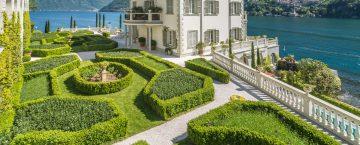 Villa Laglio vid Comosjön