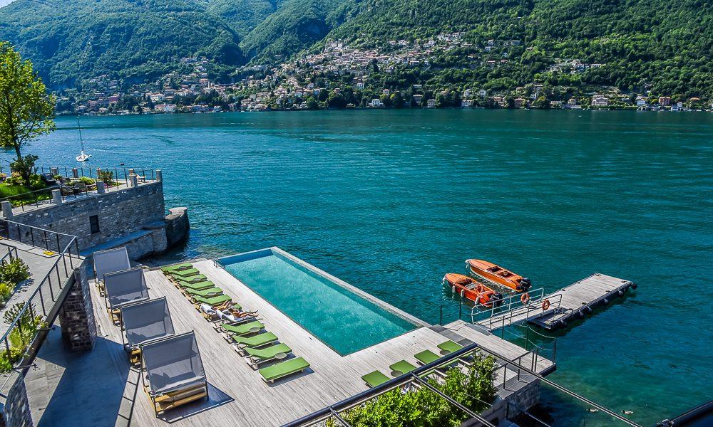 Il Sereno – ett modernt lyxhotell vid den legendariska Comosjön
